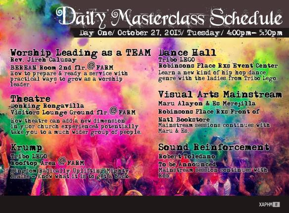 master class 1