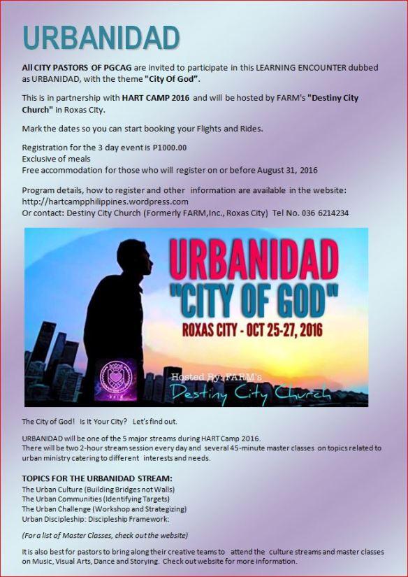 Urbanidad invitation