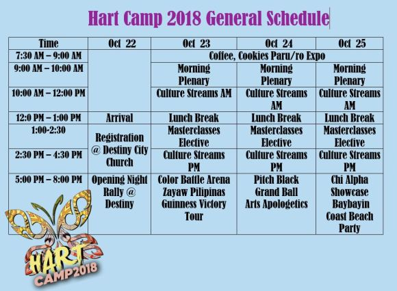 GENERAL schedule.revised