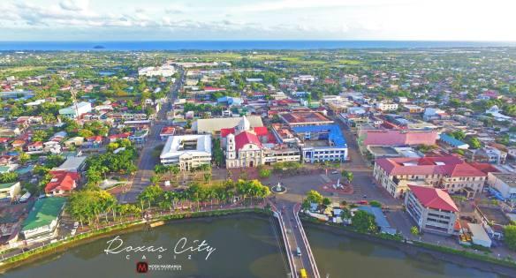 Roxas City aerial